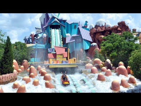 [ POV  ] Dudley Do-Right's Ripsaw Falls  UNIVERSAL RESORT Island's Of Adventure