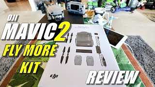 DJI MAVIC 2 Fly More Kit Review - [Unboxing, Inspection, Setup, Pros & Cons]