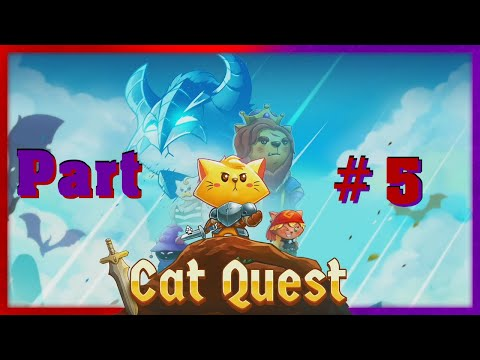 Let's Play Cat Quest #5 - Looting Boxes |
