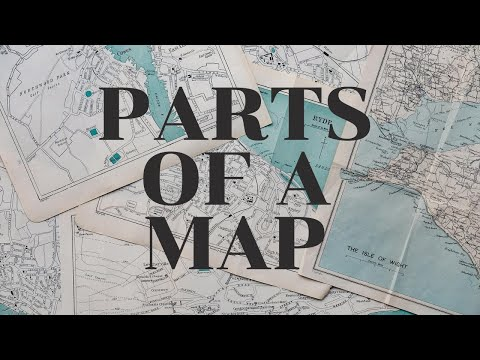 What Are the Parts of a Map? - YouTube