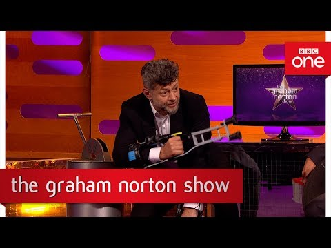 Andy Serkis on how to walk like an ape - The Graham Norton Show: 2017 - BBC One