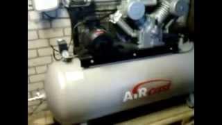 Компрессор Air Cast CБ 4/Ф-500. LT 100. Ввод в эксплуатацию.(, 2015-10-12T22:23:27.000Z)