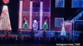 Світлове шоу в Млинові