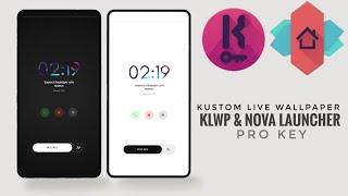 KLWP PRO 2021 - kustom live wallpaper | TUTORIAL & DOWNLOAD screenshot 2