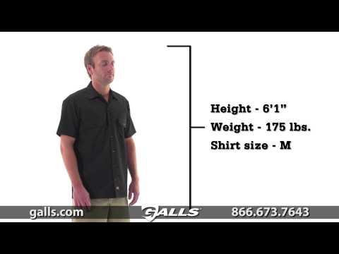 Dickies Short Sleeve Work Shirt At Galls - ST286