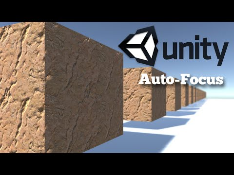 Creating a simple auto-focus in Unity 5