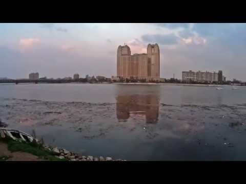 Nile City Tower - Time Lapse
