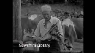Catskill NY old time fiddler - 1929