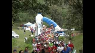 Carrera Cougar Buff Trail Run Edicion 2012 Salida General Bosque de la Primavera