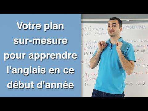 Votre plan sur mesure pour apprendre l'anglais en ce début d'année