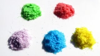 HOW TO MAKE RAINBOW COLOURED SUGAR