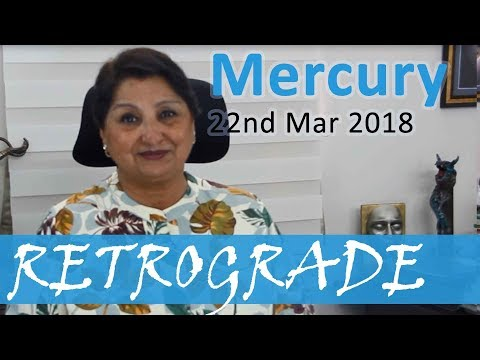 Mercury Retrograde On 22nd Mar 18: Communication Chaos - Be Mindful Of  Contracts And Contacts