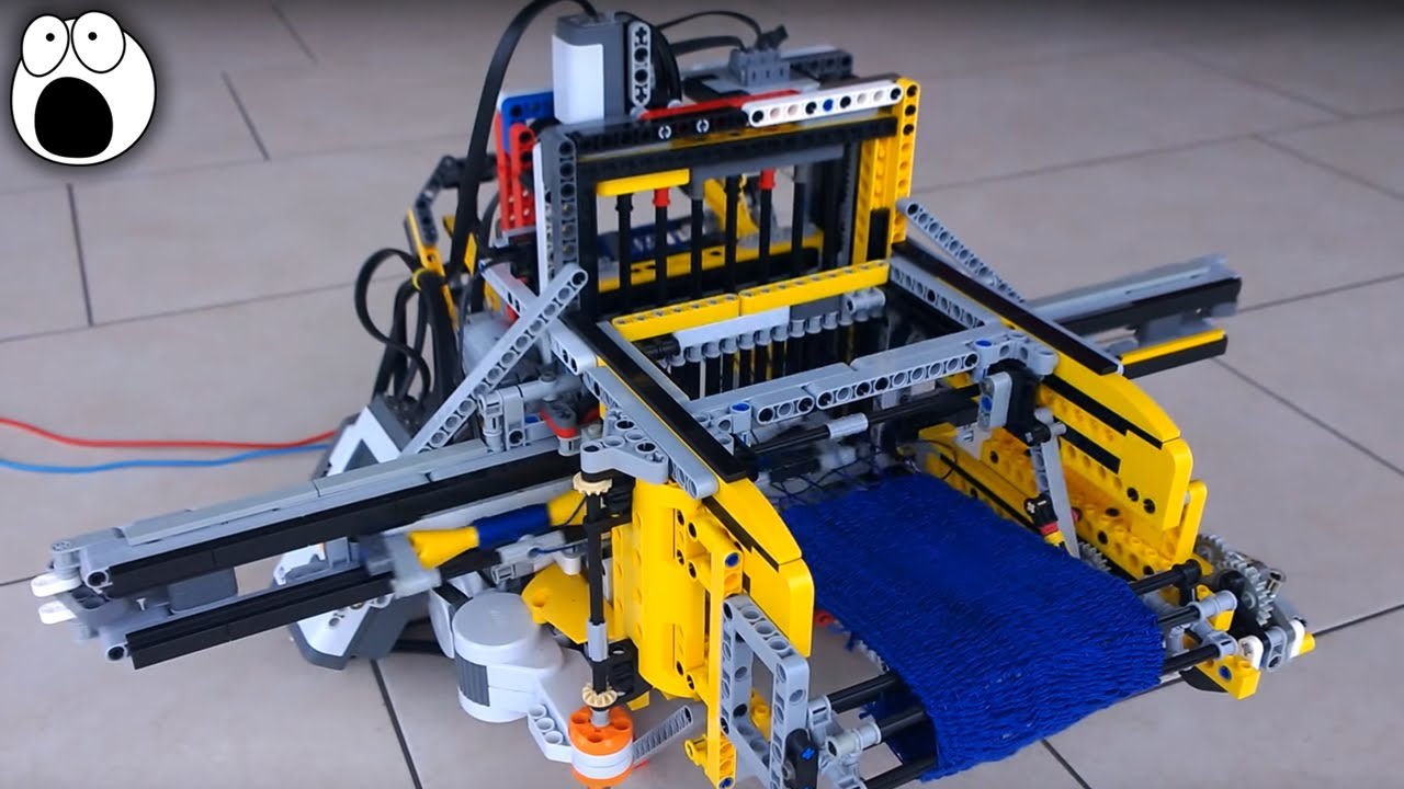 10 most amazing lego machines youtube. Black Bedroom Furniture Sets. Home Design Ideas