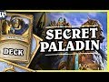 Pierwsza legenda w WILD by SECRET PALADIN - Hearthstone Deck Wild (K&C)