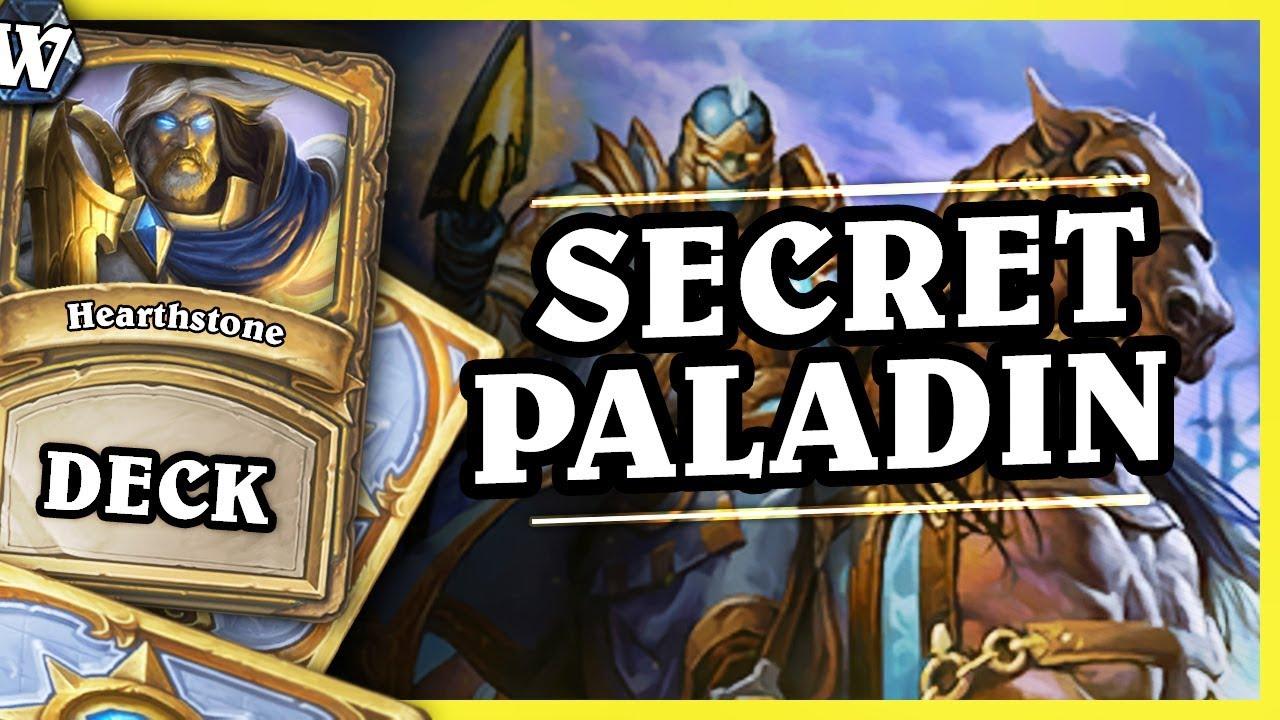 Pierwsza legenda w WILD by SECRET PALADIN – Hearthstone Deck Wild (K&C)