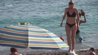 Beaches in Montenegro Becici Пляжи в Черногории Бечичи