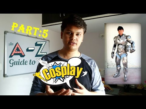 A to Z Guide to COSPLAY Tutorial Part 5 ( PVA Glue coating & Fiberglass Coating )