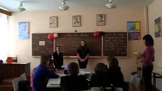 ЧНВК-13 Відкритий урок англійської мови.