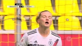 Frauenfußball EM Quali 2021 3 Spieltag Deutschland vs Ukraine 5 10 2019