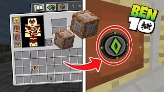 COMO VIRAR 5 ALIEN DO BEN 10 SEM MODS ! (Minecraft Pocket Edition)