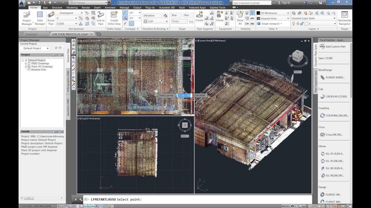 LFM Server 4 2 - AutoCAD Volume Selection