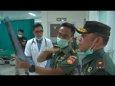 Video - Danrem 074/Warastratama Tinjau Kesiapan Penanganan Pasien Covid 19