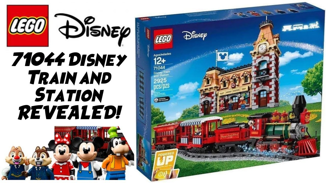 NEW LEGO DISNEY TRAIN REVEALED! Set 71044 - DETAILED BREAKDOWN