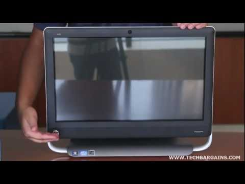 HP TouchSmart 520-1070 Unboxing (HD)
