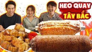 Người Hàn lần đầu ăn và nghiện luôn HEO QUAY TÂY BẮC của Việt Nam ???
