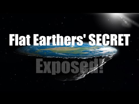 The Flat Earthers' dark SECRET has been EXPOSED! thumbnail