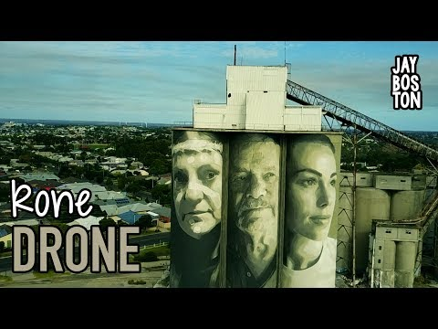 THE RONE DRONE AT ABANDONED CEMENT SILOS (MAVIC PRO)