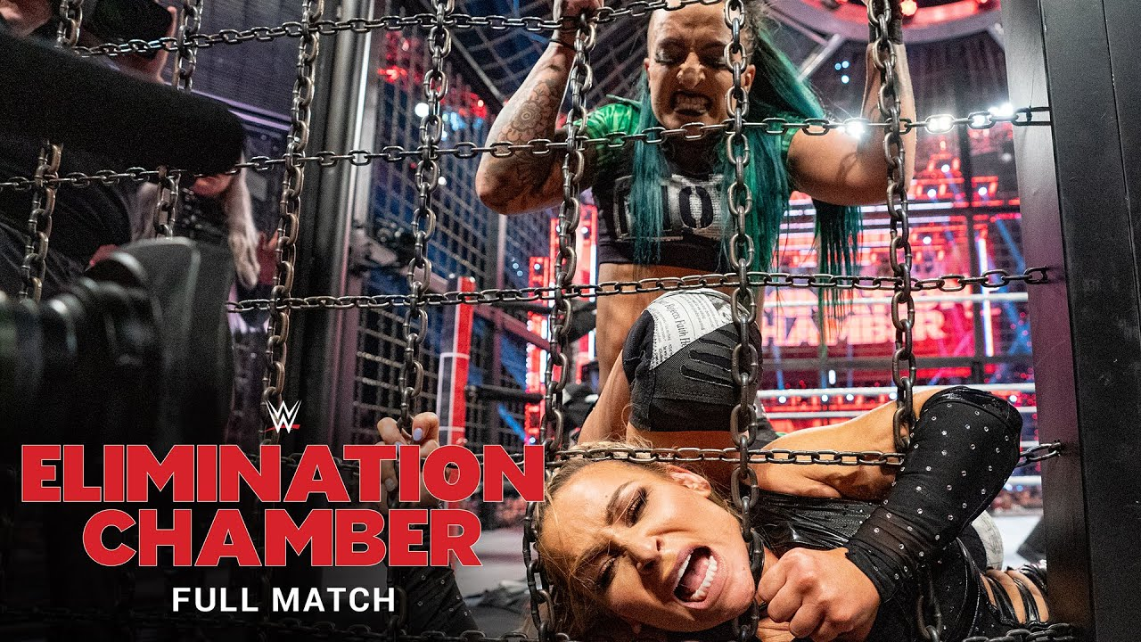 FULL MATCH - Raw Women's Elimination Chamber Match: Elimination Chamber 2020