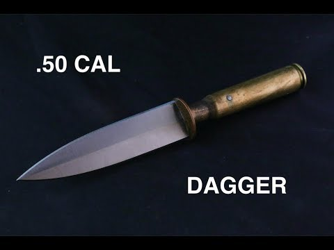 Making a .50 CALIBER Dagger