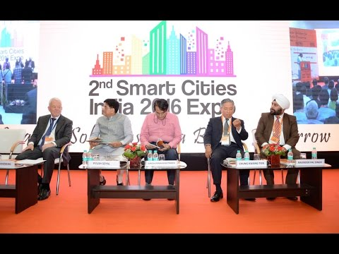 Smart Cities India 2016 Expo - International Exhibition & Conference