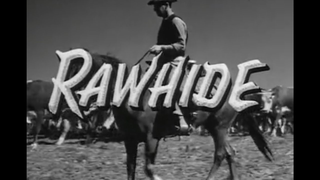 youtube rawhide theme song