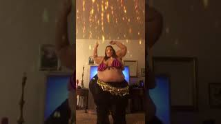 SSBBW BELLY DANCING