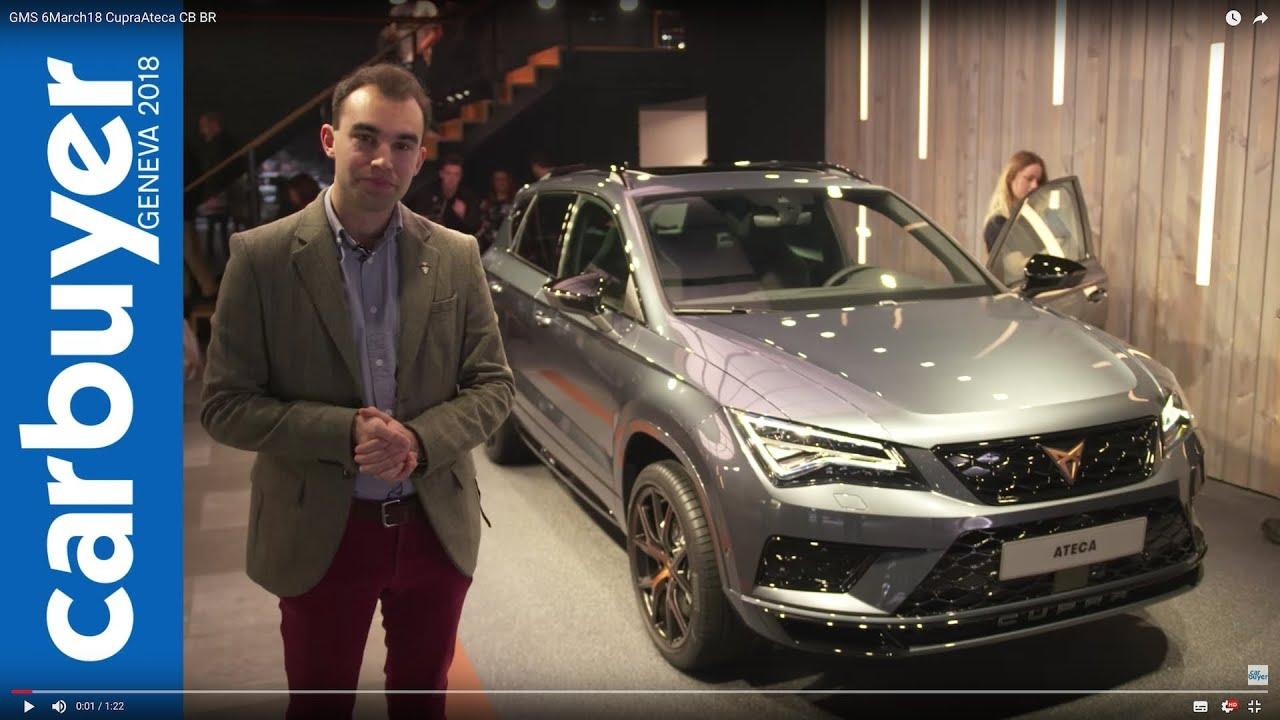 2018 Cupra Ateca walkaround and interior –Geneva Motor Show 2018 - Dauer: 83 Sekunden