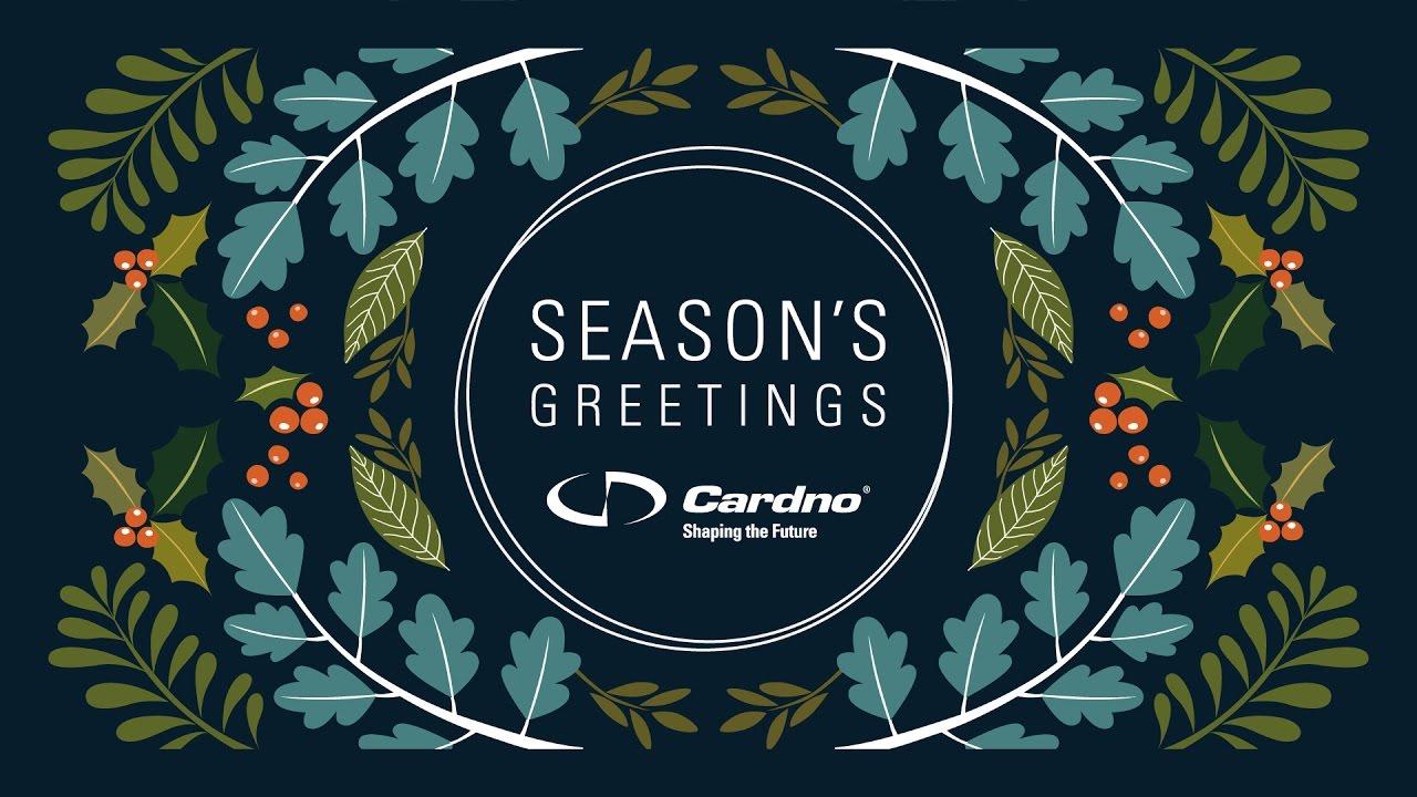Cardno Seasons Greetings Youtube