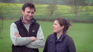 Ben and Emma Graves, Red Tractor Beef farmers