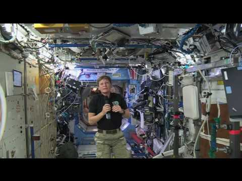 Space Station Crew Member Discusses Life in Space with Iowa Media