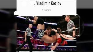 Top 10 technical wrestler in wwe