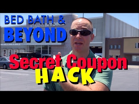 Bed Bath & Beyond Secret Coupon HACK!