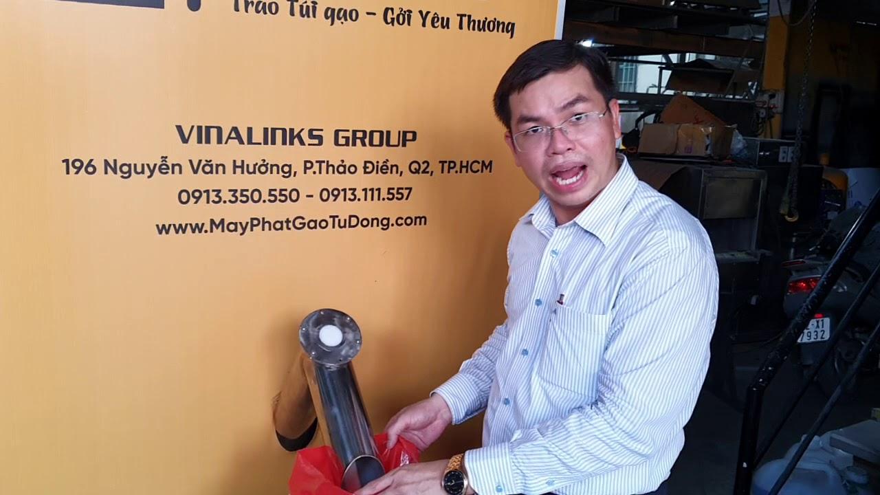 ATM Gạo Miễn Phí Cho Người Nghèo – Máy Phát Gạo Tự Động ANLODA – 0913.350.550