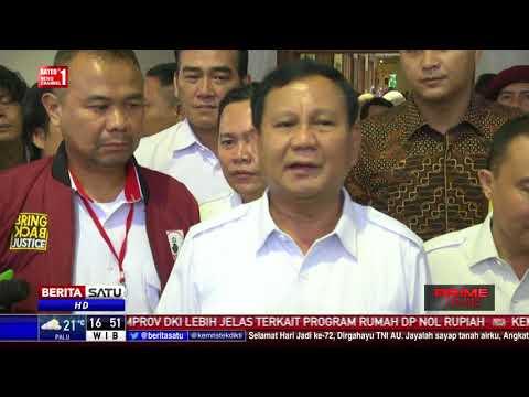 Prabowo Pastikan Rakornas Gerindra Tidak Bahas Deklarasi Capres
