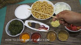 Chickpea Spinach Coconut Curry Recipe - Vegan