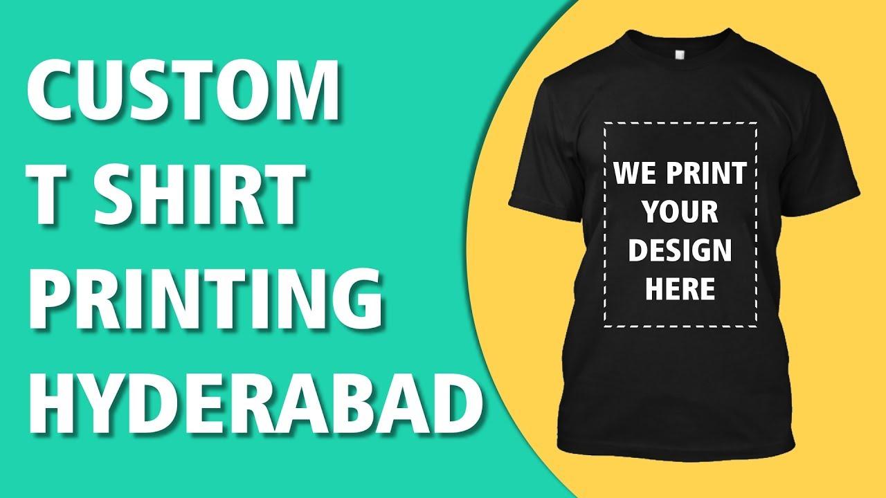 Custom T Shirt No Minimum Printing India T Shirt Printing