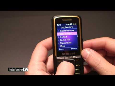SamsungM3510 videoreview da telefonino.net