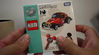 豪宅玩具~1249~2018火柴盒小汽車TOMICA 多美汽車多美小汽車Disney 迪士尼夢幻小汽車 迪士尼汽車10週年紀念車款附鑰匙  米奇老爺車