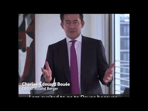 Roland Berger CEO Charles-Edouard Bouée travels to #wef18