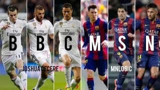 MSN vs BBC ● Who Is The Superior Trio? ● 1080p